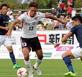 J3盛岡、連勝ならず 鹿児島と0-0