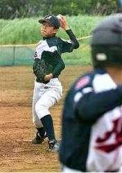 野球侍U-12、東大曲小・戸沢選出 「日本Vに貢献したい」