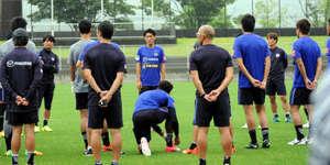 J1広島 選手の表情、硬く 選手会長の千葉「責任感じる」