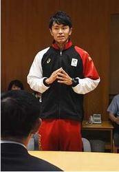デフリンピック 陸上代表、由利本荘出身の岡部さん、活躍誓う