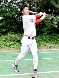 大学野球 日米選手権 中部学院大の内海 強打で勝利に貢献