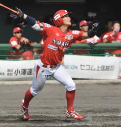 野球BCリーグ信濃、石川に大勝し3連勝