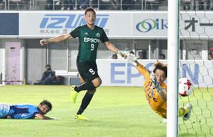 J2松本連勝 ホームで横浜FC破る