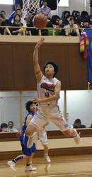 福島教員A制す 福島県総体バスケ・成年男子
