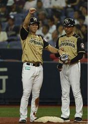 日本ハム 松本、マルチヒット&2打点 躍進の前半戦