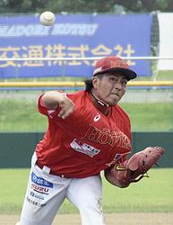 福島ホープス・高橋元が快投 気迫の7回1失点、武蔵に勝利