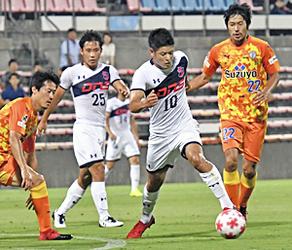 いわきFC、J1・清水に惜敗 天皇杯3回戦、攻め貫くも0-2