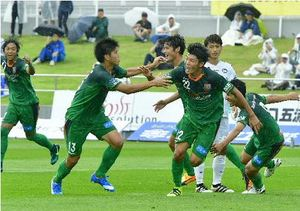 JFLヴァンラーレ八戸2連勝、FC大阪に2-1