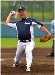 初代王者は横浜、牛島クが準V 全国500歳野球
