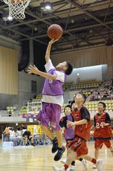 女子はウォリアーズV バスケット・ジャパンカップU-12