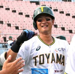 富山、滋賀に快勝 野球BCリーグ西地区、首位キープ