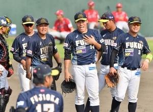 野球BCリーグ福井、終盤8点失い逆転負け 中継ぎ陣崩れる