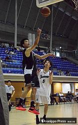 バスケで鶴田5年ぶりV 青森県民体育大会