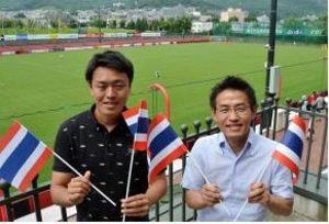 J1札幌 タイ国旗3万本で「タイのメッシ」応援 29日札幌ドーム