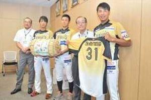 BCリーグ 栃木GBにJA全農とちぎが県産米寄贈