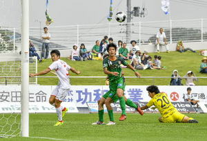 JFLヴァンラーレ八戸、第1S覇者破る ホンダFCに2―0
