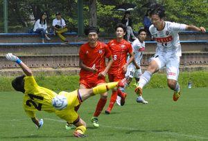 高知ユナイテッド9勝目 サッカー四国リーグ