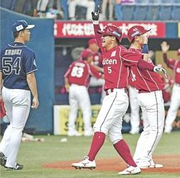 楽天・茂木、役割果たす 約1カ月半ぶり先発出場、3度出塁